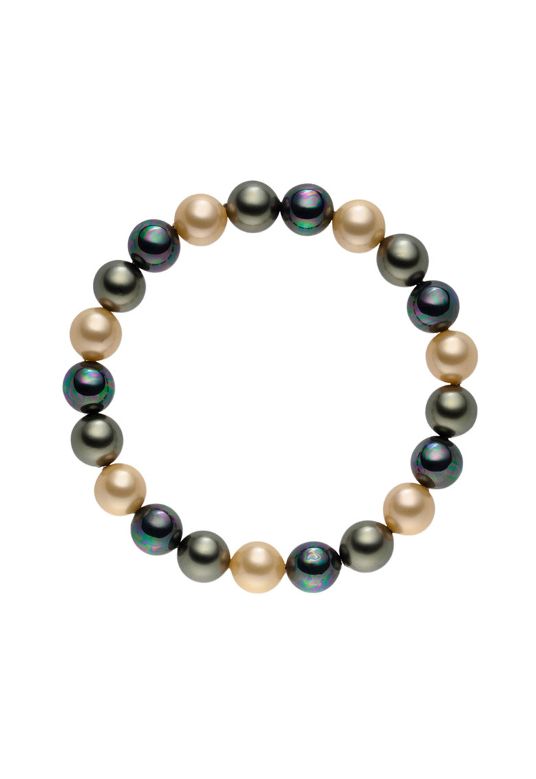 Zee Lane Bratara elastica din perle organice