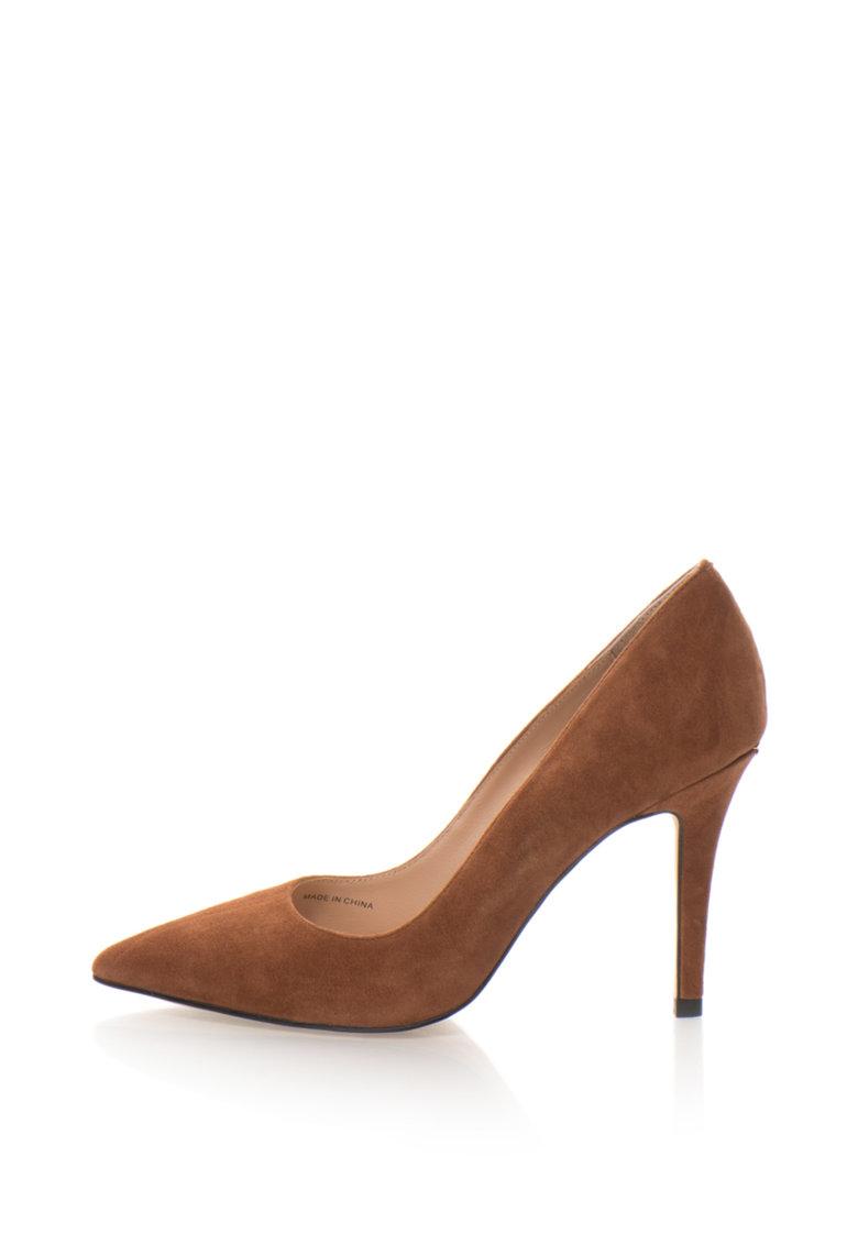 Liu Jo Pantofi stiletto de piele intoarsa cu varf ascutit Fiona
