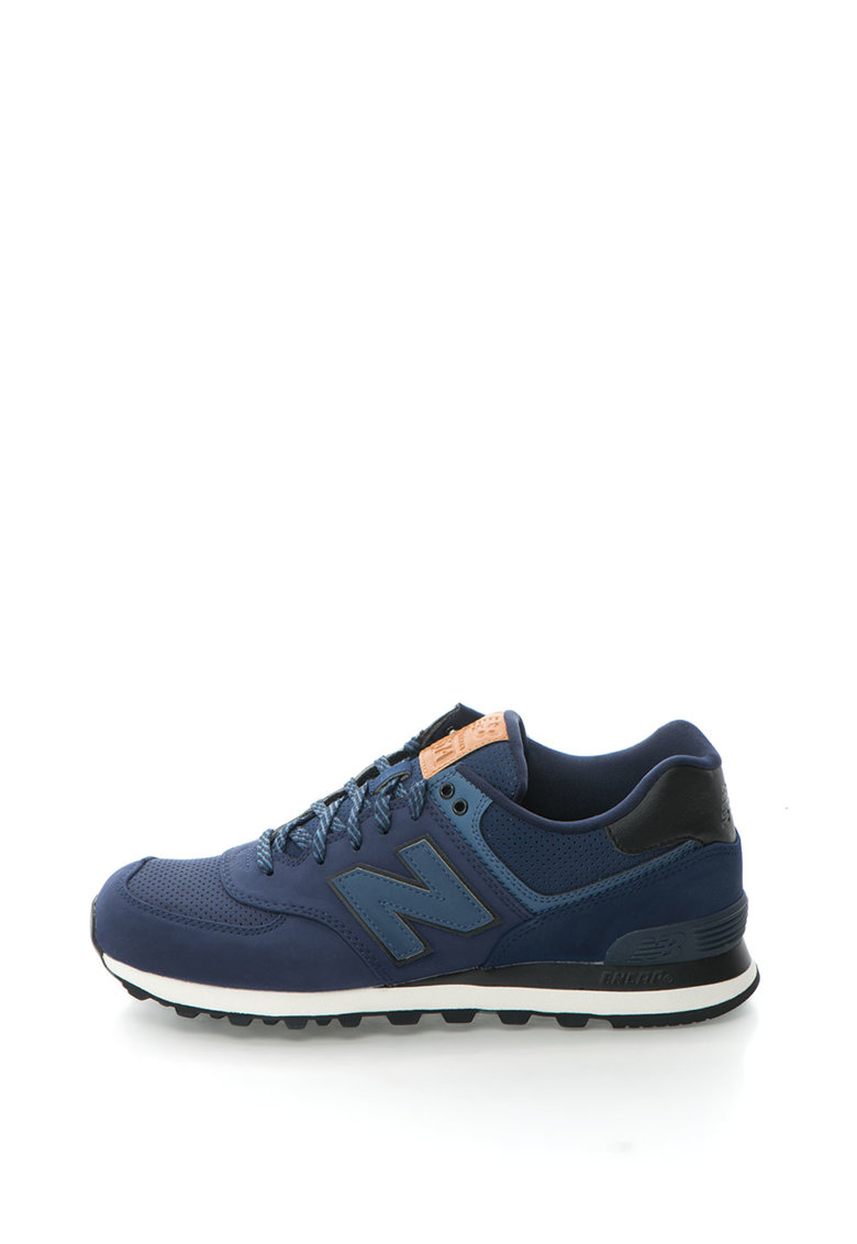 Pantofi sport cu perforatii si sireturi 574 de la New Balance