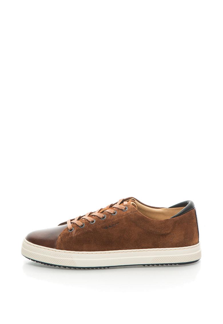 Pantofi Sport De Piele Si Piele Intoarsa Star
