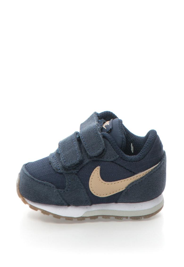 Pantofi sport cu insertii de piele Md Runner Nike
