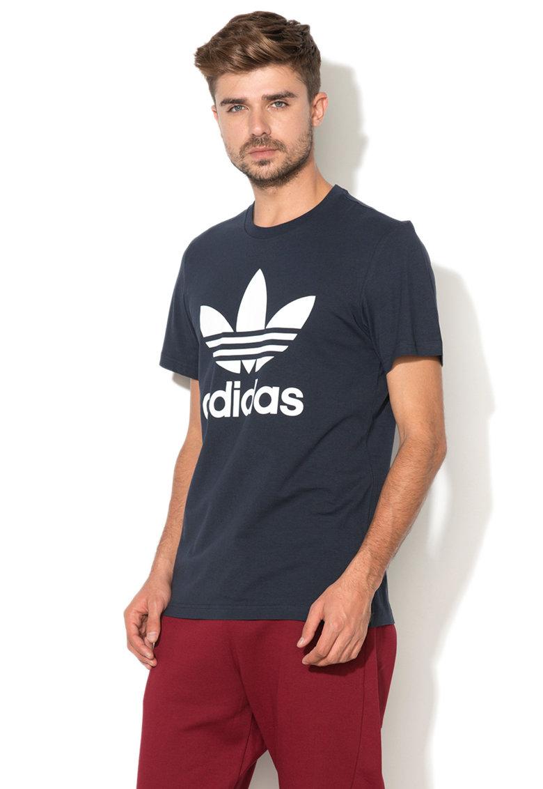 Tricou cu aplicatie logo Adidas ORIGINALS