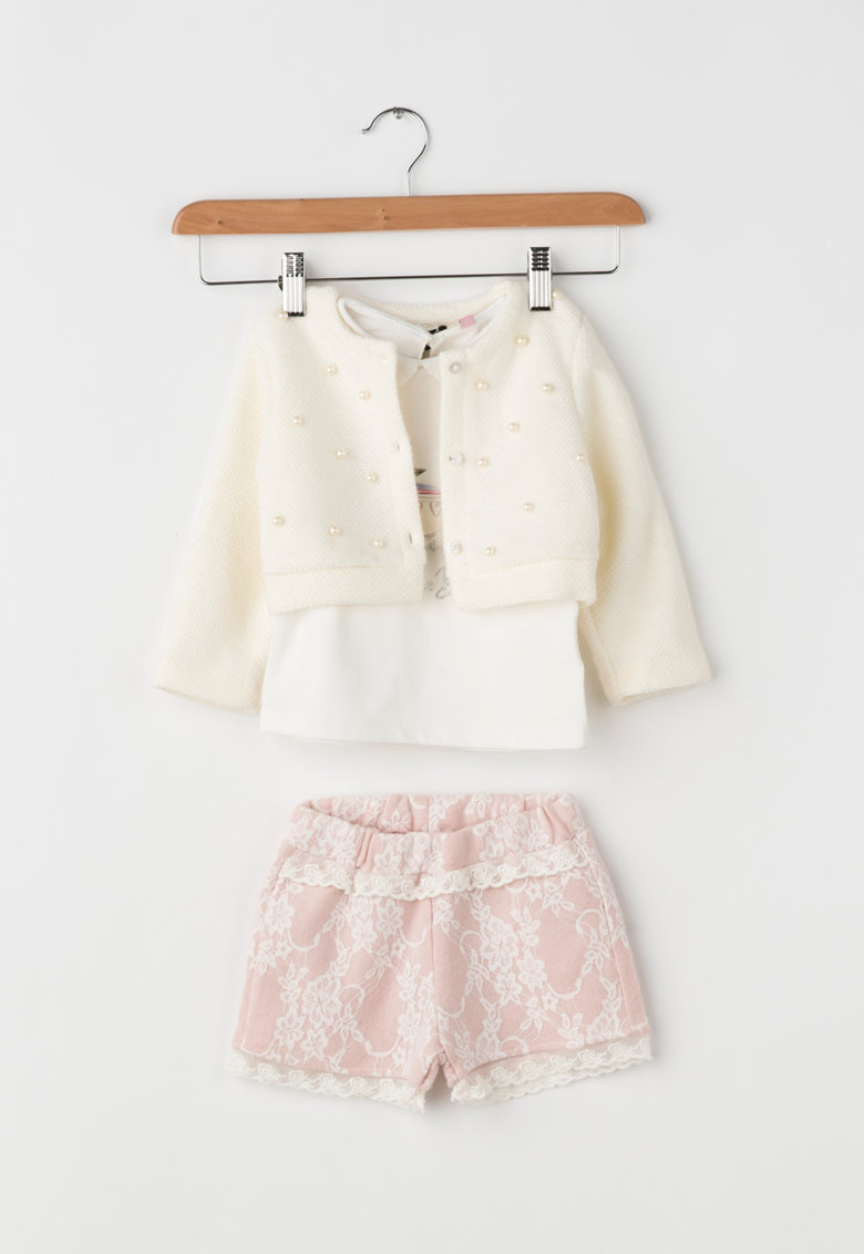 Zee Lane Kids Set de cardigan – bluza si pantaloni scurti