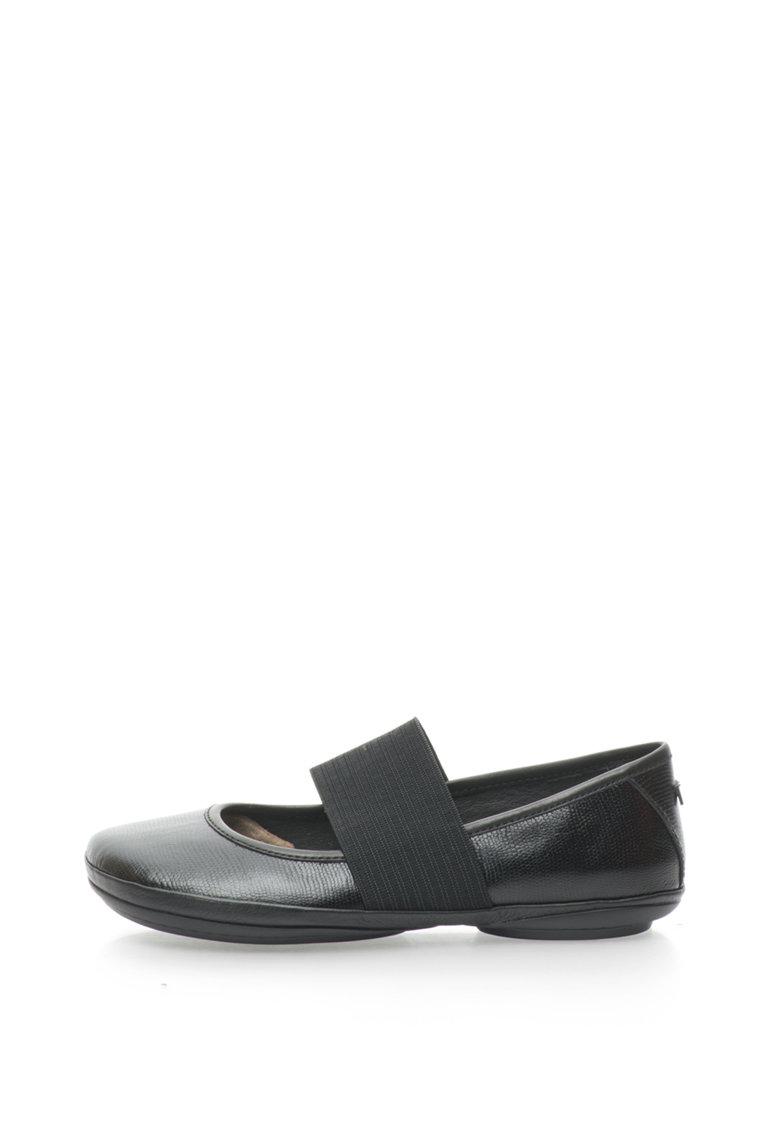 Pantofi Mary Jane de piele Nina Camper