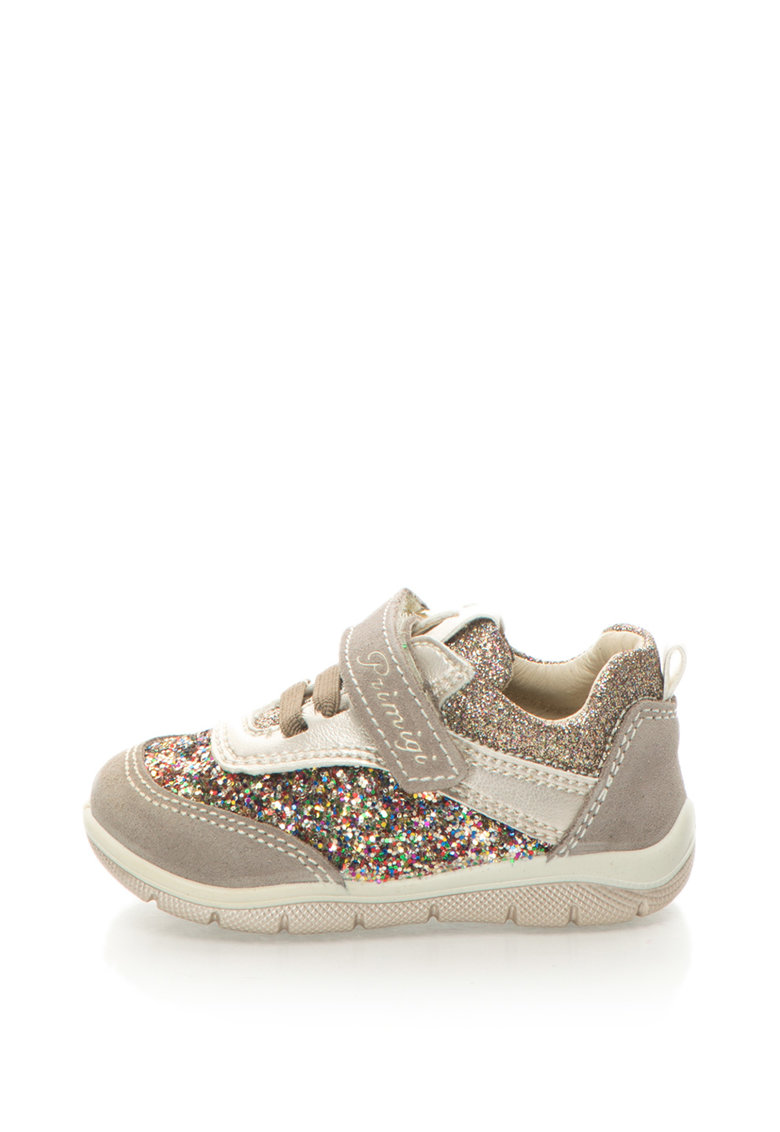 Primigi Pantofi sport cu insertie din paiete