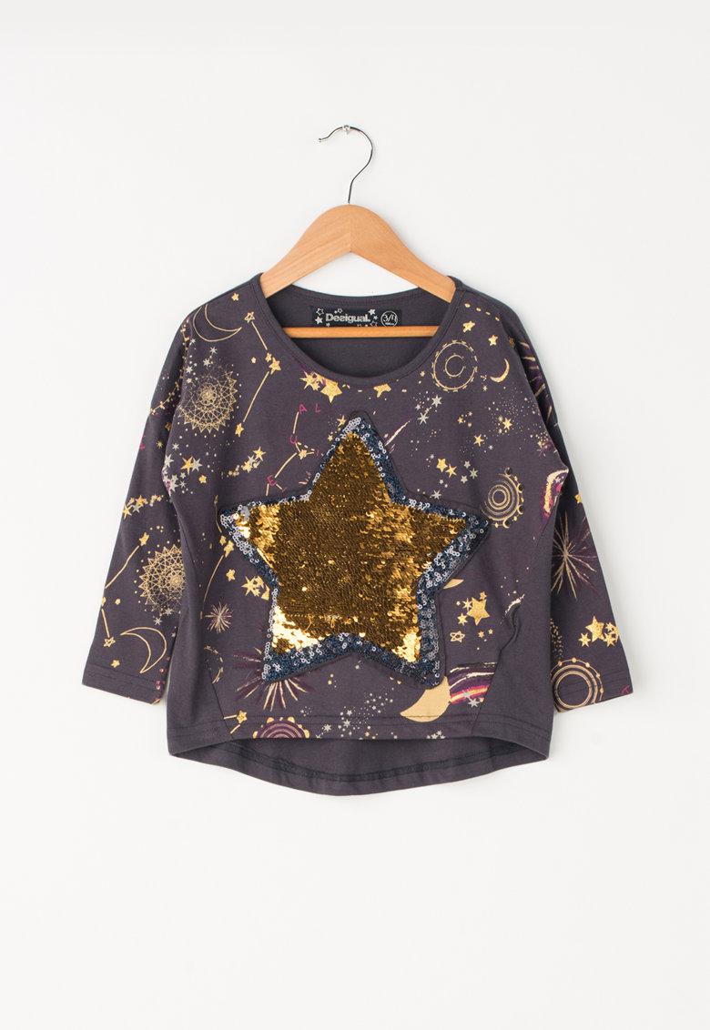 DESIGUAL Bluza cu paiete reversibile Calonge