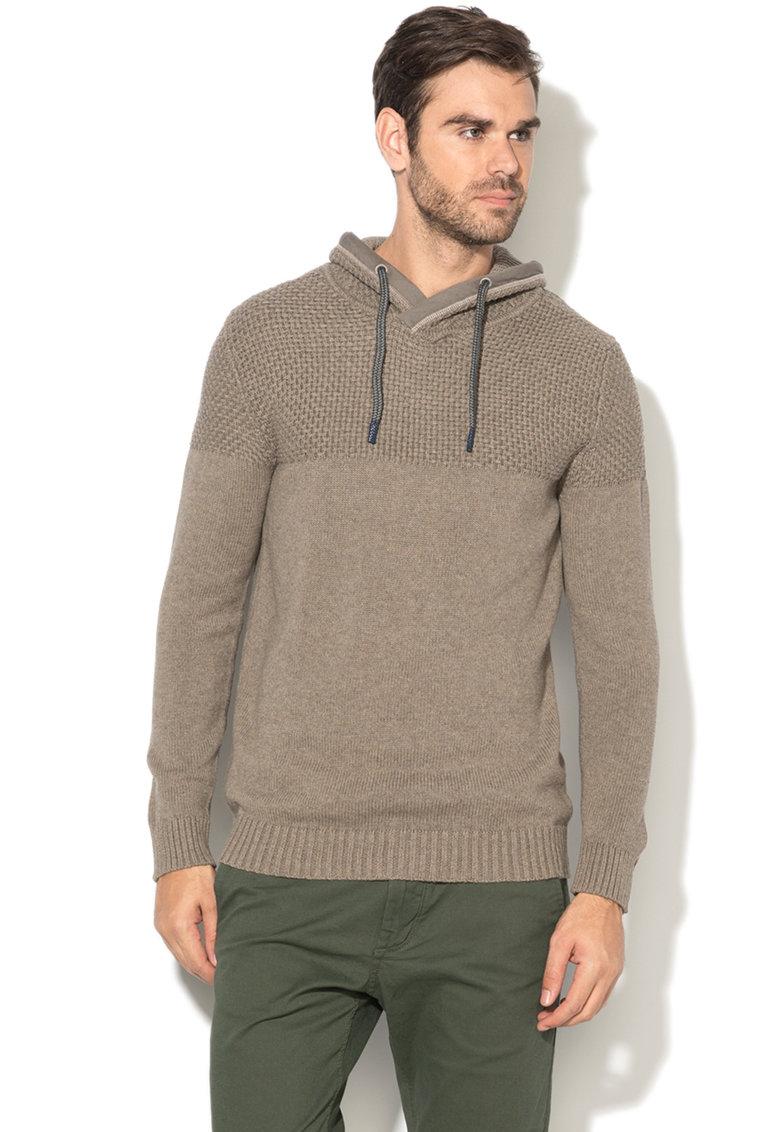 Esprit Pulover tricotat cu guler drapat