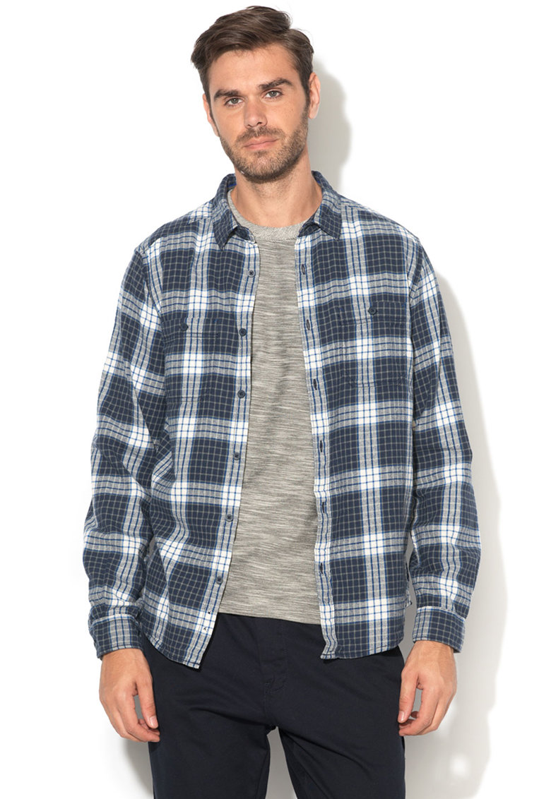 Camasa regular fit cu model in carouri de la EDC by Esprit