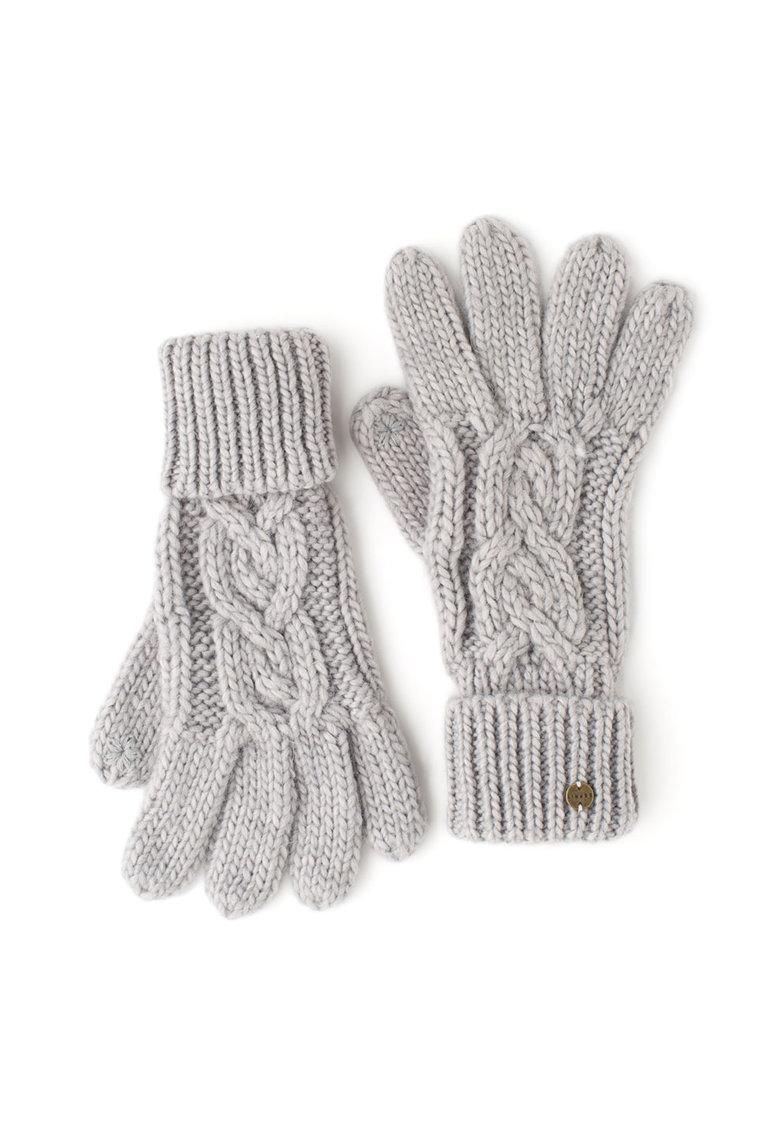 Esprit Manusi tricotate – cu torsade – compatibile cu ecran tactil