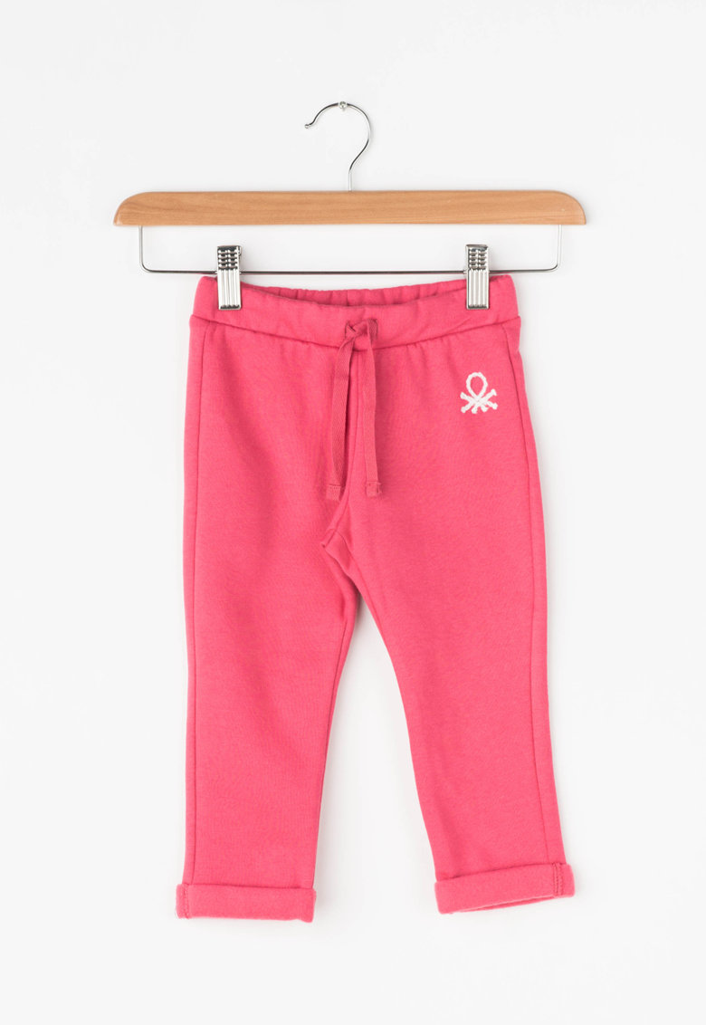 United Colors of Benetton Pantaloni sport cu mansete pliabile