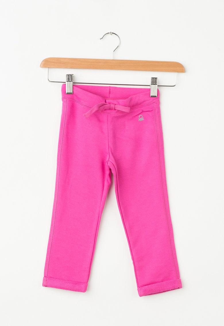 Pantaloni sport cu snur pentru ajustare de la United Colors of Benetton