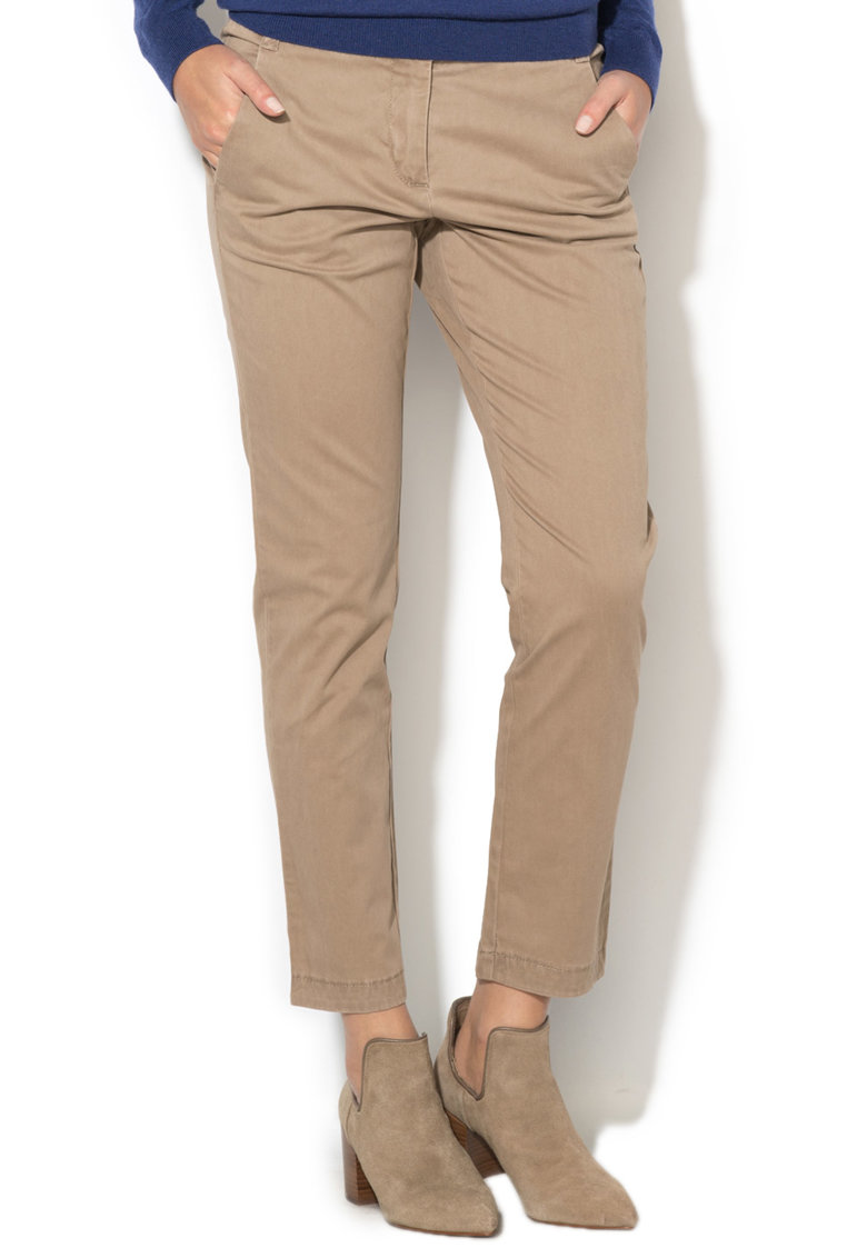 United Colors of Benetton Pantaloni chino crop