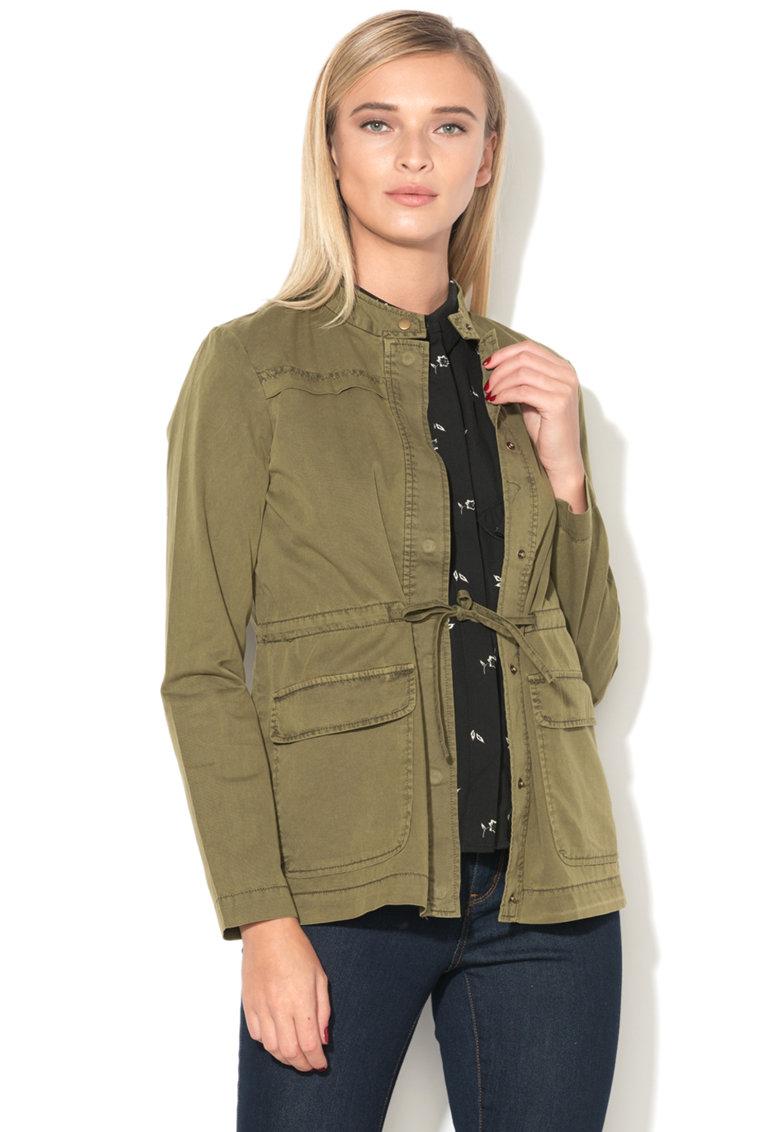 Jacheta cargo cu snur pentru ajustare Naomi de la Vero Moda