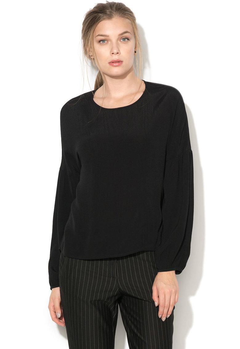 Vero Moda Bluza asimetrica cu decupaj pe spate Clay