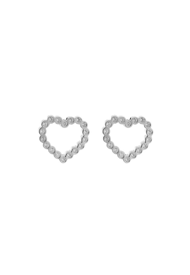 Cercei cu tija – in forma de inima de la Esprit