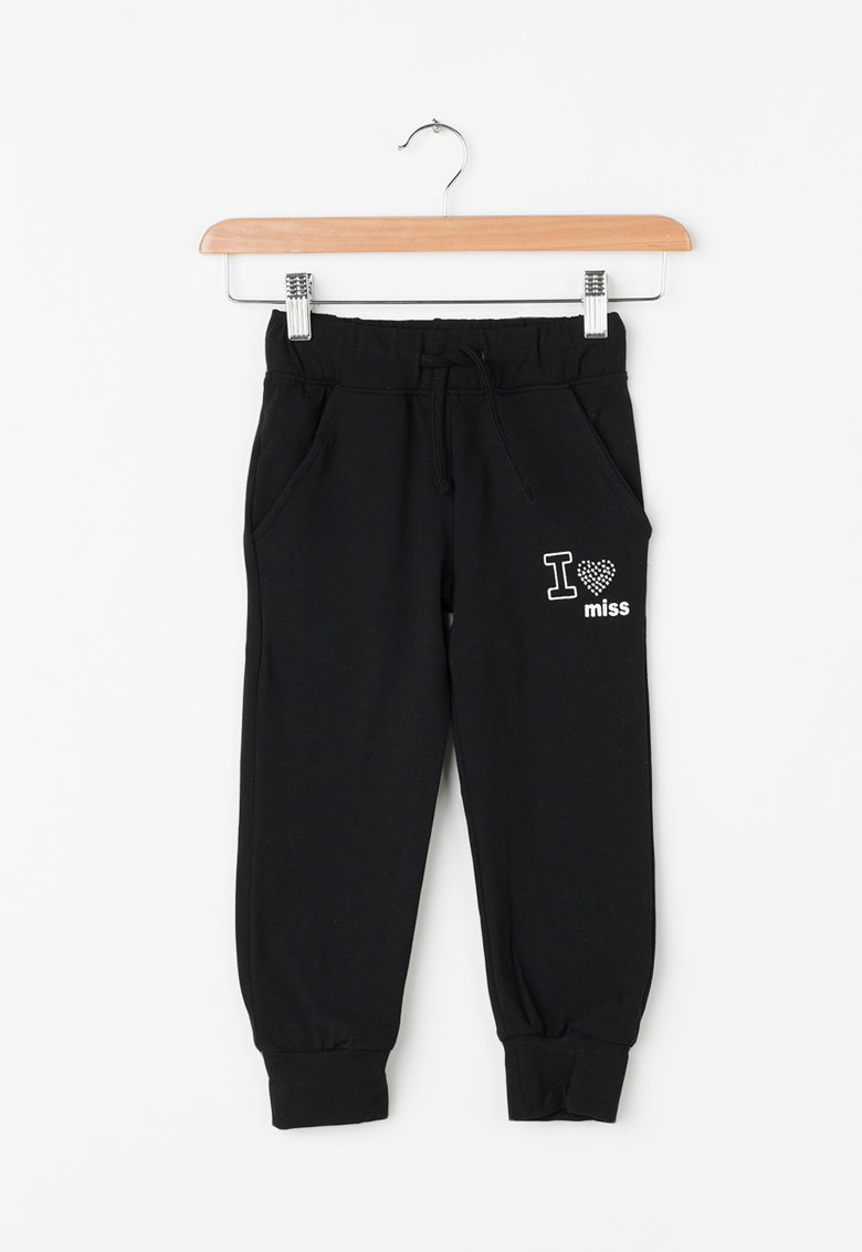 Zee Lane Kids Pantaloni jogger cu snur