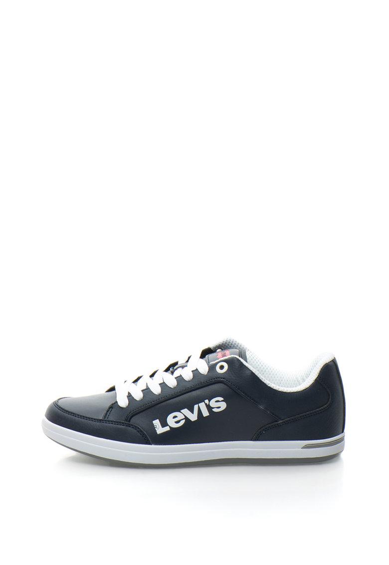 Levis Pantofi sport din piele sintetica cu logo