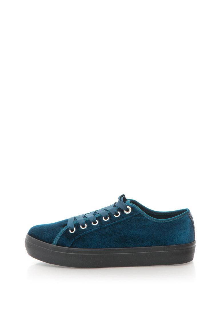 Pantofi sport catifelati cu varf rotunjit de la sOliver