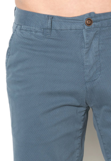 Zee Lane Denim Bermude albastre cu model grafic discret Barbati