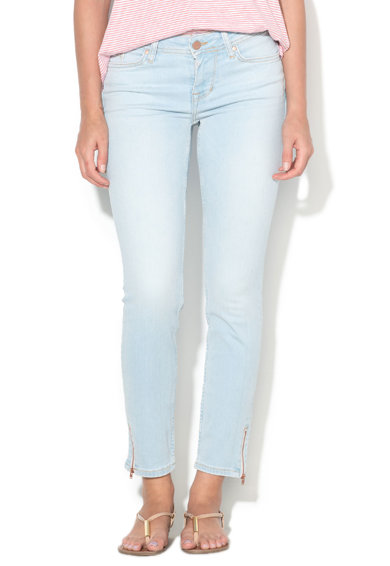 Mustang Jeggings crop bleu slim fit Jasmin Femei