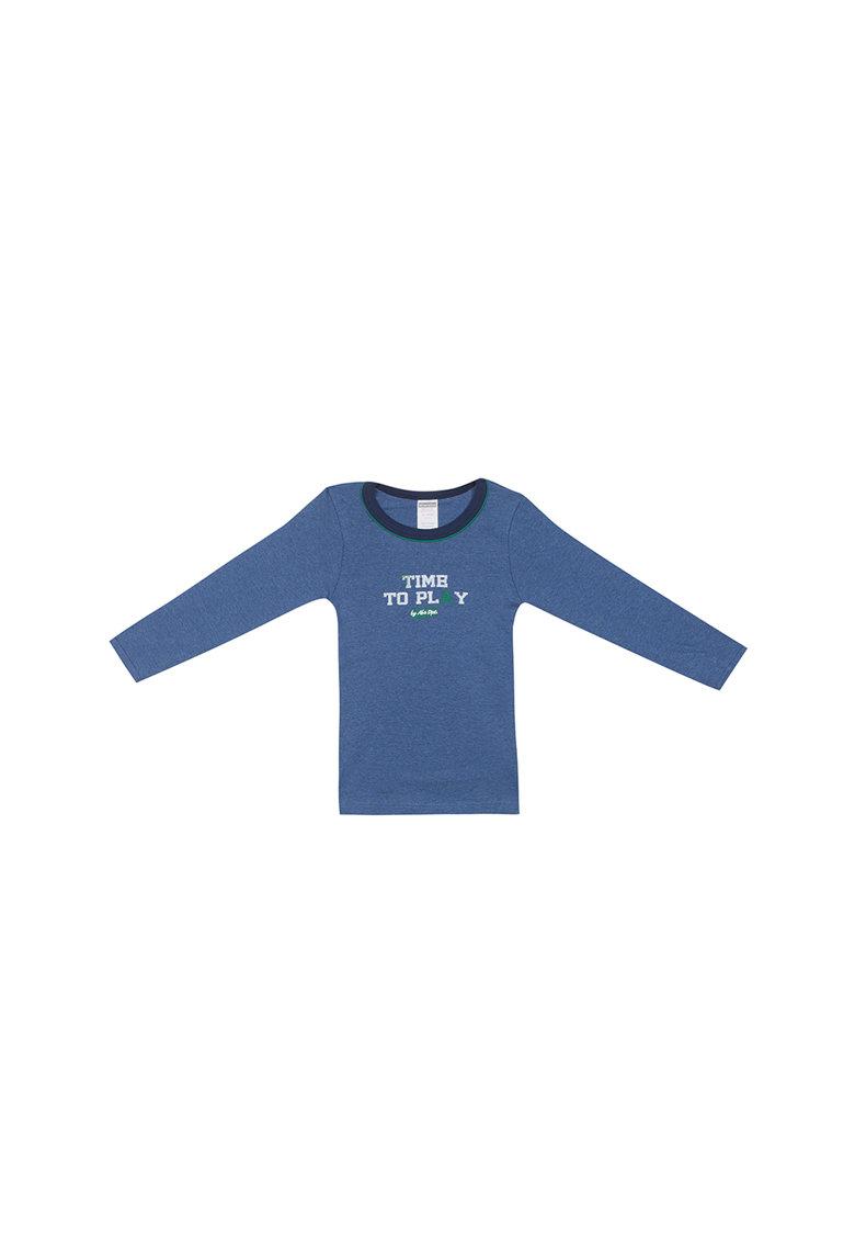 Bluza cu imprimeu text thumbnail