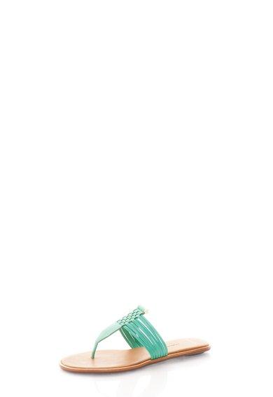 FashionDays.ro: Papuci flip flop verde menta Saia AERIN