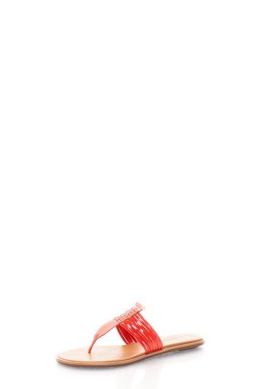 AERIN Papuci flip flop rosii Saia