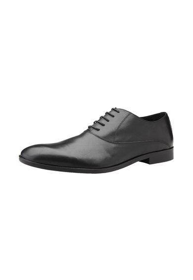 Versace 1969 Abbigliamento Sportivo Pantofi negri din piele Gilles