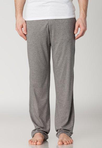 Pantaloni de casa gri melange de la Skiny