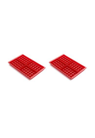 FashionDays.ro: Set de tavi din silicon pentru gofre – 2 piese Lekue