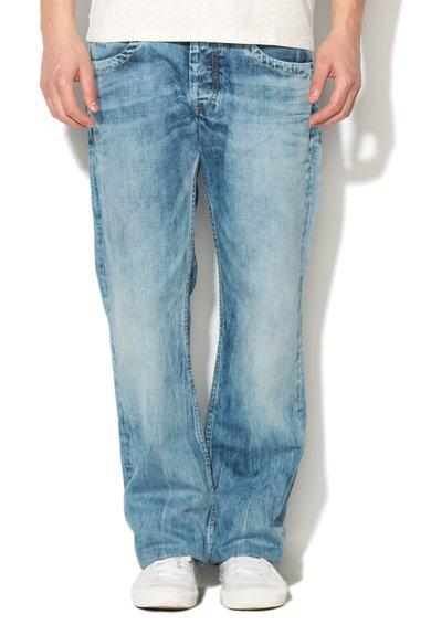 Pepe Jeans London Jeansi albastri cu croiala dreapta Jeanius