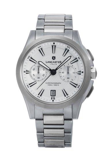 Lancaster Ceas cronograf argintiu Apollo