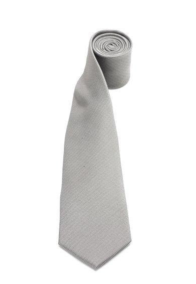 FashionDays.ro: Cravata de matase in nuante de gri Vincenzo Boretti