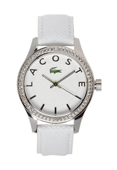 FashionDays.ro: Ceas alb cu argintiu Sydney Lacoste