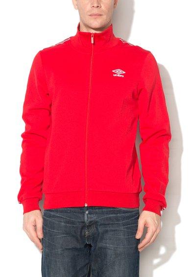 Umbro Bluza sport rosie cu fermoar