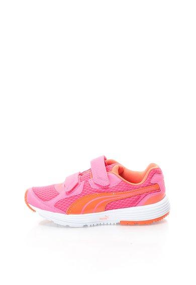 Pantofi sport roz bubblegum cu oranj Descendant V