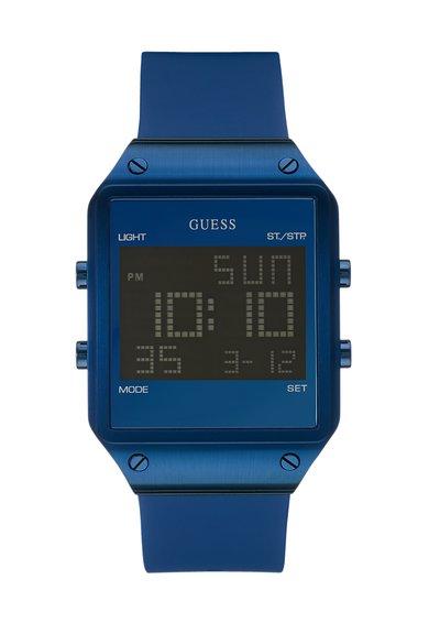 FashionDays.ro: Ceas cronograf digital albastru Radar GUESS
