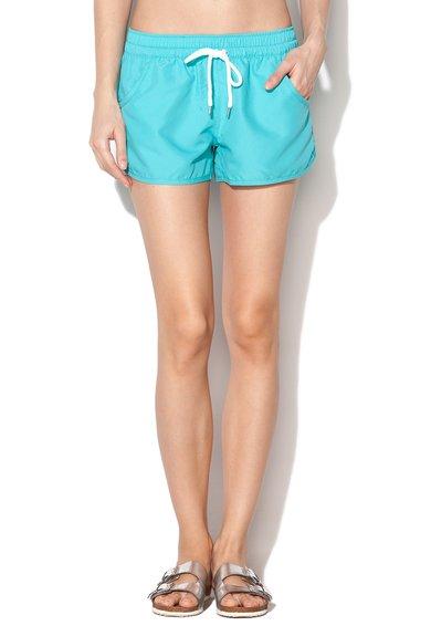 Esprit Bodywear Pantaloni scurti de baie turcoaz cu buzunare Atlantic