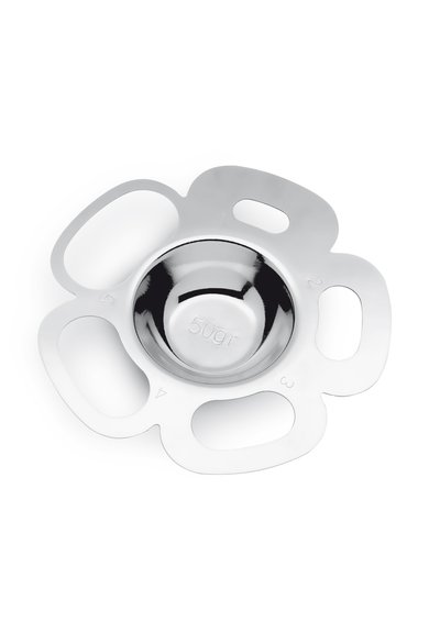 Instrument argintiu din otel inoxidabil pentru portionarea paste de la IPAC