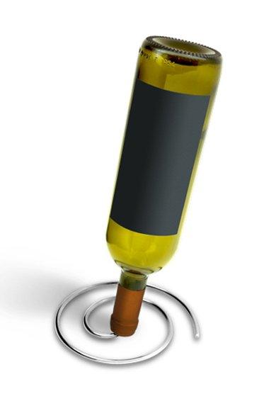 IPAC Suport drenare din otel inoxidabil pentru sticle