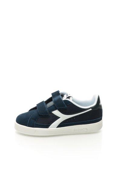 Pantofi casual bleumarin din piele intoarsa de la Diadora