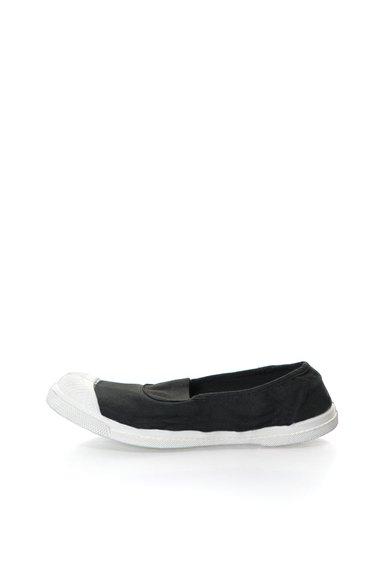 Pantofi slip-on negri de la Bensimon