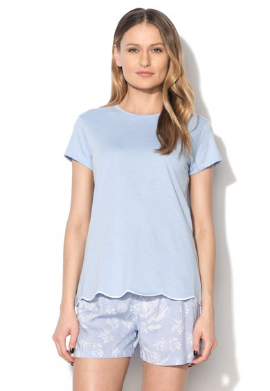 Tricou bleu Sleep Mix&Match de la Skiny