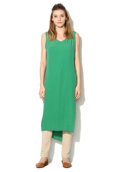 Rochie verde cu slit amplu de la United Colors Of Benetton