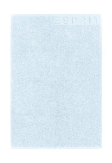 Covoras de baie albastru pastel Solid de la Esprit Home