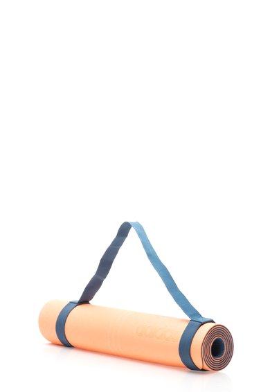Saltea De Yoga Roz Piersica Aprins Cu Albastru Mineral