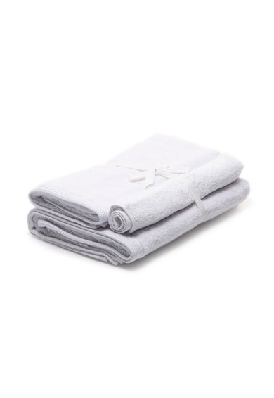 Set de prosoape albe New Plus – 3 piese de la Sorema