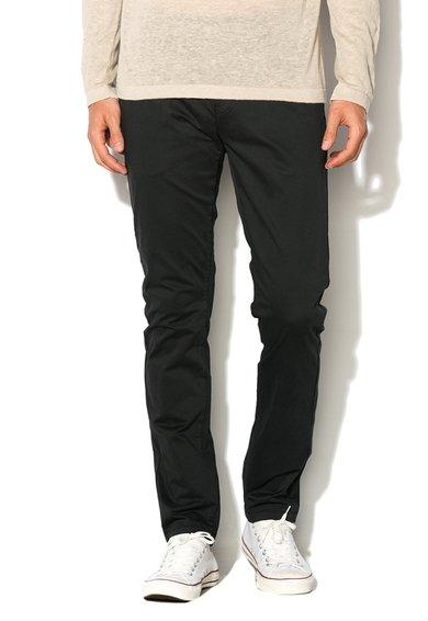 Pantaloni skinny negri