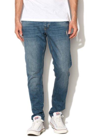 FashionDays.ro: Jeansi albastri decolorati si deteriorati Mexx