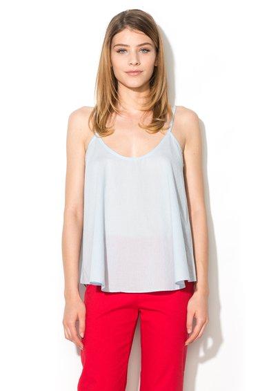 FashionDays.ro: Top bleu cu croiala lejera United Colors Of Benetton